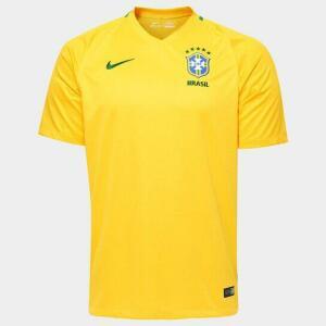 Camisa Seleção Brasil I 2016 s/nº - Torcedor [Personalização Grátis]