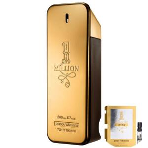 [Cartão Americanas] 1 Million Paco Rabanne Edt - Perfume 200ml + Amostra | R$355