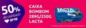 (Ame) AMERICANAS LOJA FISICA Caixa de bombom Lacta - 50% AME