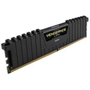 Memória Corsair Vengeance LPX, 8GB, 2400MHz, DDR4, CL16, Preto - CMK8GX4M1A2400C16 - R$220