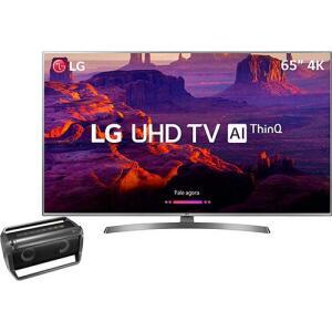 Smart TV LED 65'' Ultra HD 4K LG 65UK6530  + Lg Bluetooth Speaker Pk5  por R$ 3959
