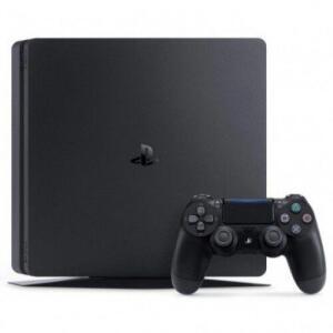 CONSOLE SONY PLAYSTATION 4 SLIM 500GB + CONTROLE DUALSHOCK PRETO por R$ 1376