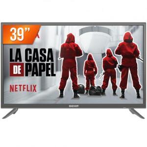 Smart TV LED 39 Full HD Semp TCL L39S3900FS HDMI USB com Wifi e Conversor Digital Integrados por R$ 999