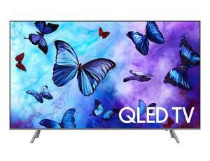 "Smart TV QLED 55"" Samsung 2018 QN55Q6FNAGXZD Ultra HD 4k com Conversor Digita (3231.55 AME) | R$3.670"
