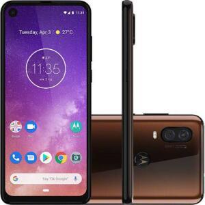 [Cartão Submarino] Smartphone Motorola One Vision 128GB Dual Chip Android Pie 9.0 por R$ 1536