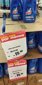 [LOJA FÍSICA - LOJAS AMERICANAS] Sabão Líquido Brilhante 3 Litros - R$15,99