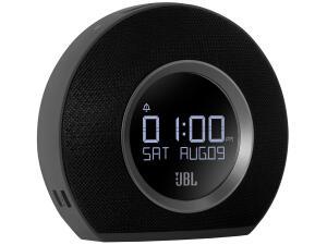 Rádio-Relógio Bluetooth Alarme FM Display 10W - Horizon JBL | R$375