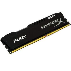 Memória HyperX Fury, 4GB, 2400MHz, DDR4, CL15, Preto - HX424C15FB/4