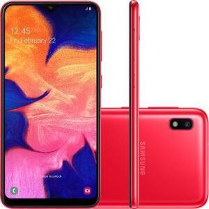Smartphone Samsung Galaxy A10 32GB Dual Chip Android  POR R$ 699