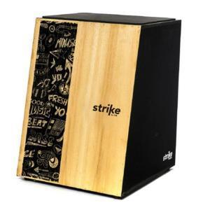 Cajon Elétrico Inclinado Strike Music 12 Fios SK5001 FSA | R$243