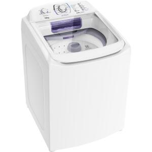 Lavadora de Roupas Electrolux 16kg, 12 Programas de Lavagem, Branca - LAC16 | R$1.367