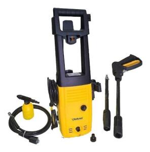 Lavadora Alta Pressão 1400w C/ Rodas E Kit Shampoo Hlx Tekna | R$270