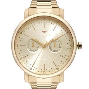 Relógio Technos Masculino Executive Dourado 6P25BT4D por R$ 229