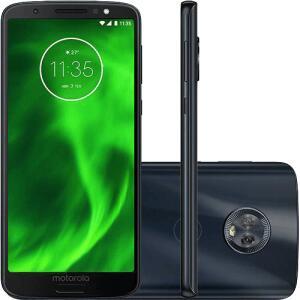 "Smartphone Motorola Moto G6 Plus 64GB Dual Chip 4GB RAM Tela 5.9"""