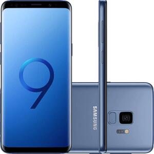"Smartphone Samsung Galaxy S9 Dual Chip Android 8.0 Tela 5.8"" Octa-Core 2.8GHz 128GB 4G Câmera 12MP - Azul"
