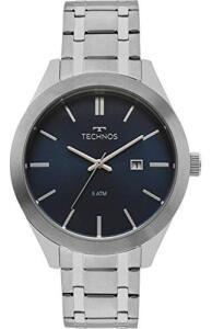 Relógio Technos Masculino Ref: 2115mnr/1a Casual Prateado | R$149