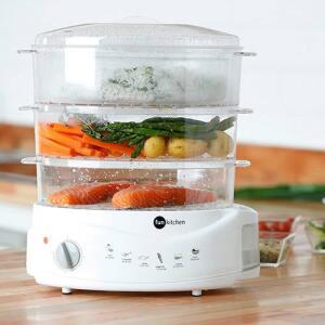 Aparelho para Cozimento à vapor Fun Kitchen Branco - 650W | R$180
