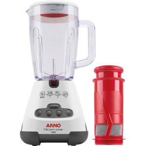 Liquidificador Arno Clic'Pro Juice LN4511B1 1,5 Litros 3 Velocidades 700W 220V - R$94