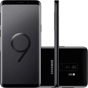 "Smartphone Samsung Galaxy S9+ Tela 6.2"" Octa-Core 2.8GHz 128GB - R$ 2.399"