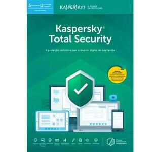 Kaspersky Antivírus Total Security 2019 Multidispositivos 5 PCs - Digital para Download