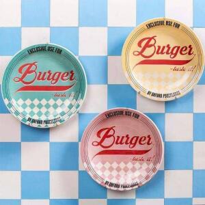Jogo de pratos Burguer