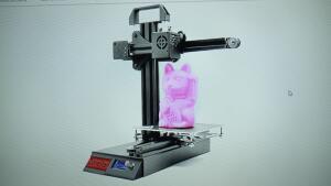 [Compra Internacional] Impressora 3D Zonestar Z6 - R$479