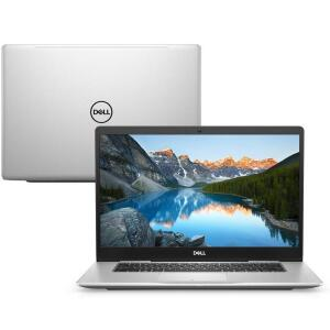 """Notebook Dell Inspiron Ultrafino I15-7580-u30s 8ª Geração Intel Core I7 8gb 256gb Ssd Placa De Vídeo Fhd 15.6"""" Linux Mcafee - R$4082"""