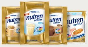 Peça sua amostra grátis Nutren Senior  Nestlé
