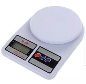 Balança Digital Eletrônica De Precisão Sf-400 Até 10kg Cozinha