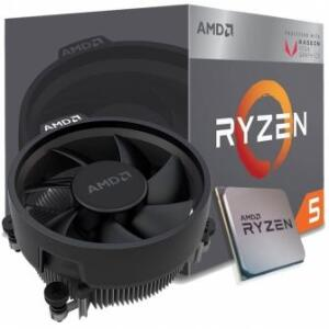 PROCESSADOR AMD RYZEN 5 2400G 3.6GHZ / 3.9GHZ MAX TURBO YD2400C5FBBOX QUAD CORE 4MB AM4 VÍDEO INTEGRADO COOLER WRAITH STEALTH - R$719