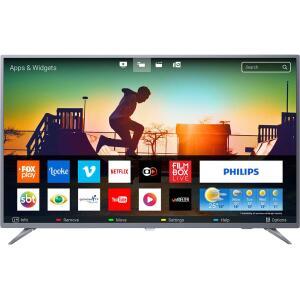 "CARTAO SHOPTIME - Smart TV LED 55"" Philips 55PUG6513/78 Ultra HD 4k com Conversor Digital 3 HDMI 2 USB Wi-Fi 60hz - Prata"