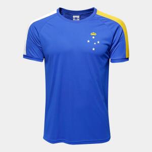Camisa Cruzeiro Masculina - Azul R$49