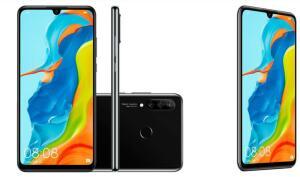 """[1x no cartão ]  Smartphone Huawei P30 Lite Android 9.0 6.15"""" Octacore 128GB 4G 24MP+8MP+2MP Dual Chip - Preto"""