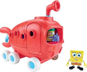 Imaginext Bob Esponja Ônibus Da Fenda Do Biquini Mattel   R$97