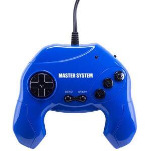 Master System Plug & Play com 40 Jogos na Memória - Azul | R$45