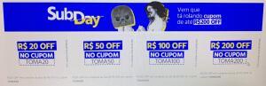SUBMARINO - Cupons OFF até R$200