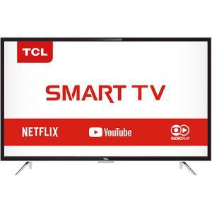 Smart TV LED 39'' TCL L39S4900FS Full HD com Conversor Digital 3 HDMI 2 USB Wi-Fi por R$ 916