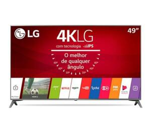 Smart TV LG 49' ultra HD (4K) 49UJ6565 bivolt