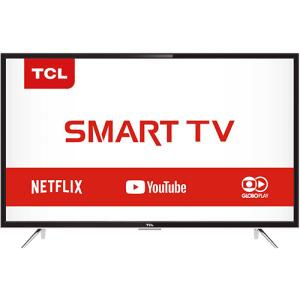 "[Cartão Shoptime] Smart TV LED 39"" TCL L39s4900fs Full HD com Conversor Digital 3 HDMI 2 USB Wi-Fi por R$ 1.163"