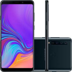 "Smartphone Samsung Galaxy A9 128GB Dual Chip Android 8.0 Tela 6.3"" Octa-Core 2.2GHz 4G - Preto"
