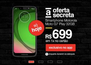[APP] Moto G7 Play - 1x Cartão