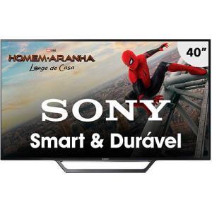Smart TV Sony 32´ LED HD com Rádio série W655D - KDL-32W655D | R$881