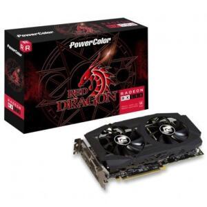 Placa de vídeo Powercolor RX 580 Red Dragon 8GB GDDR5 | R$979