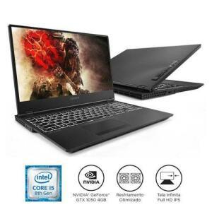 "[Cartão Shoptime] Notebook Lenovo Gamer Legion Y530 i5-8300H 8GB 1TB GTX 1050 Windows 10 15.6"" FHD 81GT0000BR Preto (1x AME R$3847)"