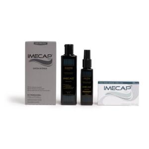 Kit Imecap Hair Queda Intensa Shampoo + Loção + 30 Cápsulas | R$88