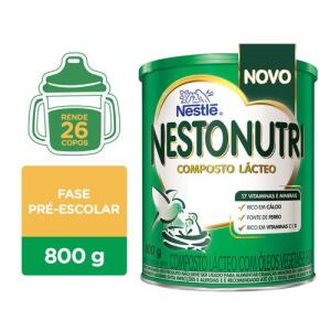 NESTONUTRI COMPOSTO LÁCTEO 800G - R$19