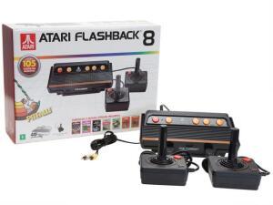 Atari Flashback 8 Tec Toy 2 Controles - Fabricado no Brasil com 105 Jogos na Memória | R$162