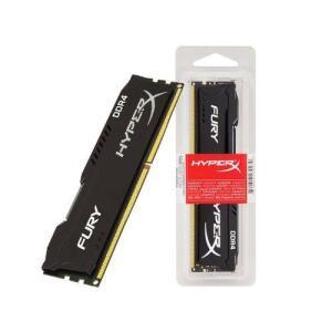 Memoria Desktop Gamer Ddr4 Hyperx Hx424c15fb2/8 Fury 8gb 2400mhz Non-ecc Cl15 Dimm Black R$268