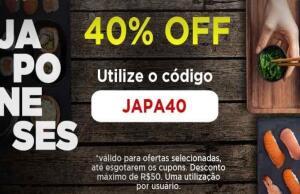 Peixe urbano 40% japonês - Goiânia