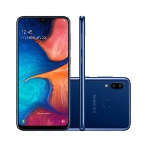 Smartphone Samsung Galaxy A20 32GB Dual Chip 3GB RAM Tela 6.4 | R$855